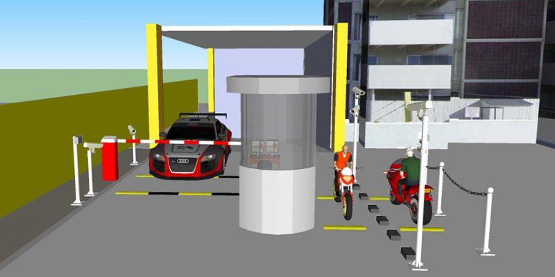 Giải pháp quản lý bãi đỗ xe thông minh bằng thẻ từ